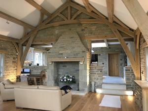 Oak Framed Eco House